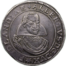 Holy Roman Empire, Duchy of Friedland, Albrecht of Wallenstein, Imperial Taler 1627 (obverse)