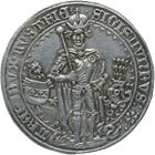 Holy Roman Empire, Archduchy of Austria, County of Tyrol, Sigismund, Guldiner 1486 (obverse)