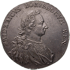 Holy Roman Empire, Kingdom of Prussia, Frederick II, Levant Trade Taler 1766 (obverse)