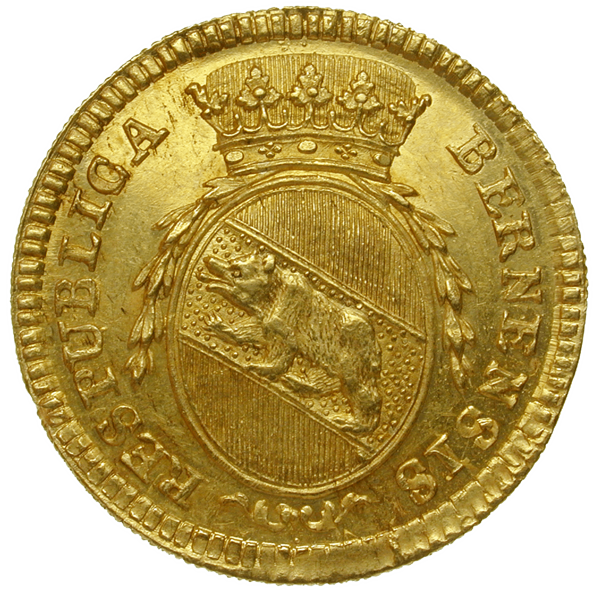 Republic of Berne, Duplone 1793 (obverse)
