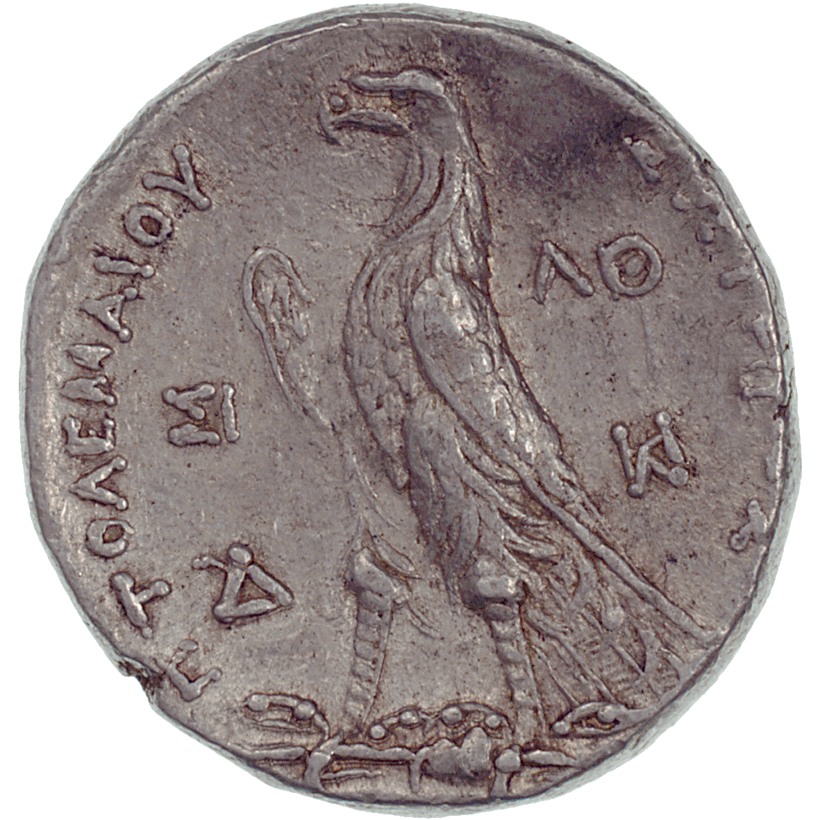 Kingdom of Egypt, Ptolemy II Philadelphus, Tetradrachm (reverse)