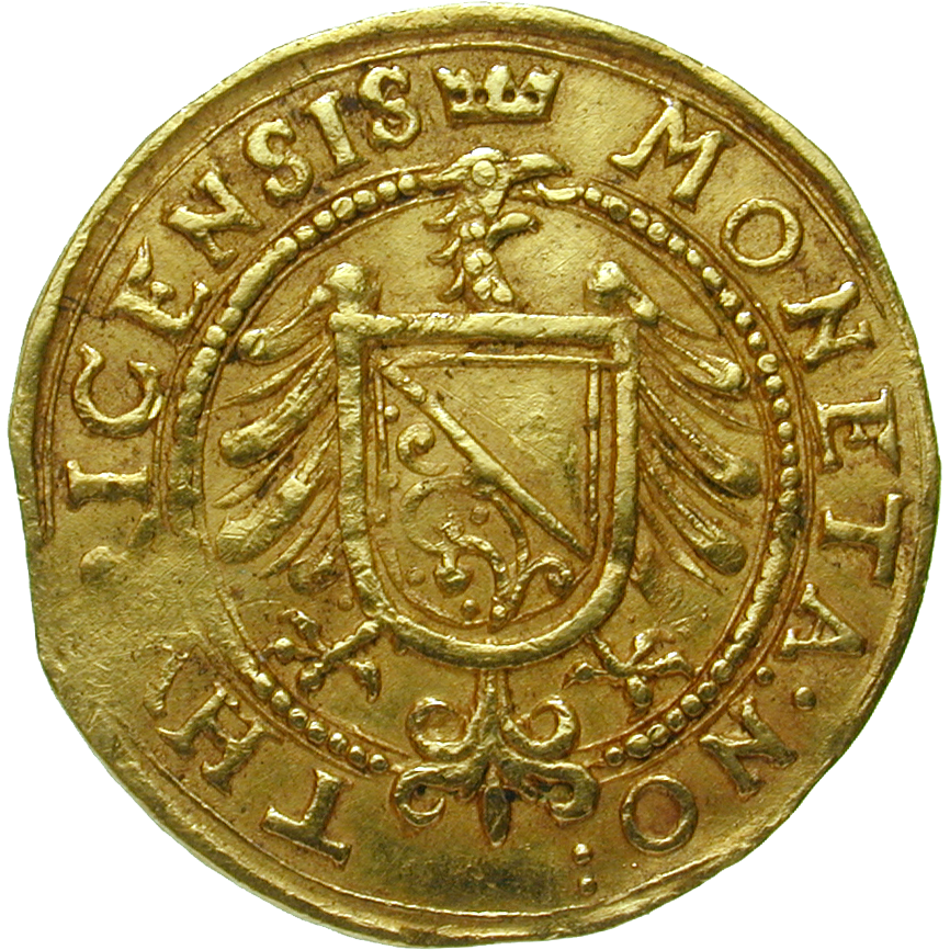 Holy Roman Empire, City of Zurich, Ducat (obverse)