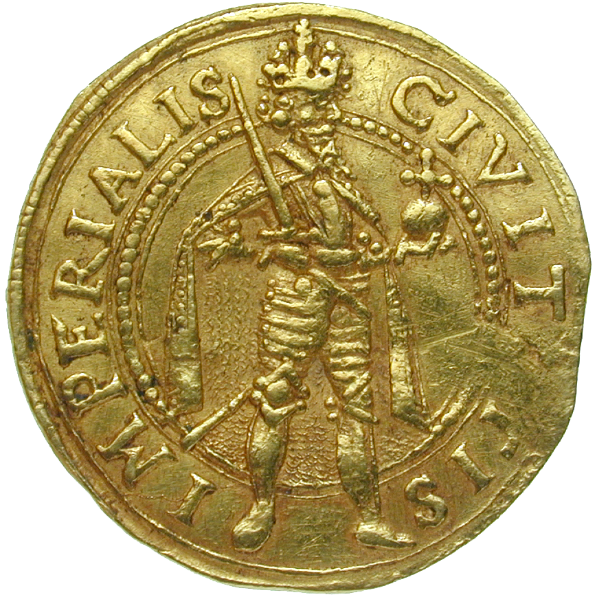 Holy Roman Empire, City of Zurich, Ducat (reverse)