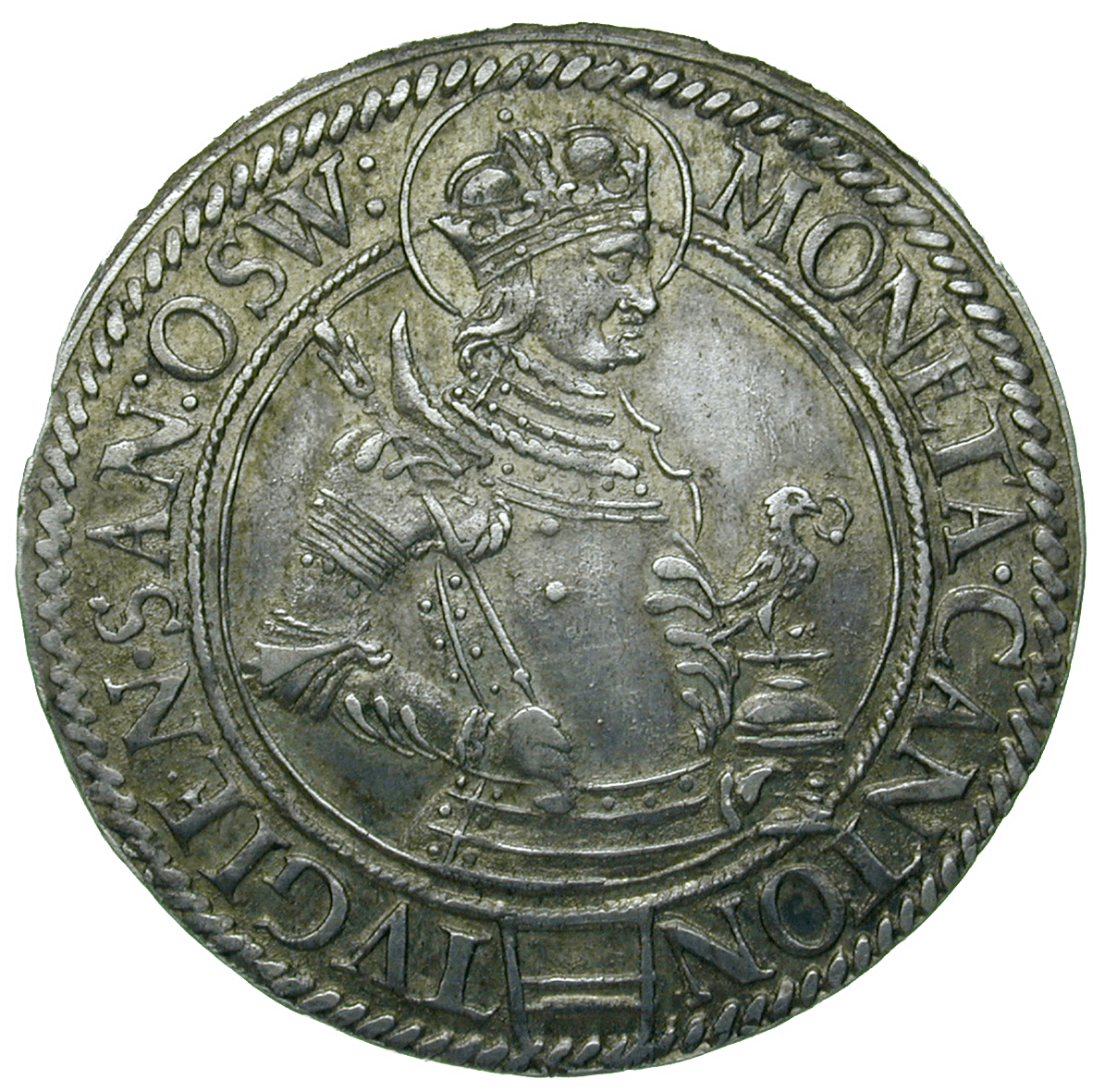 Holy Roman Empire, City of Zug, 1 Zwölfer (obverse)