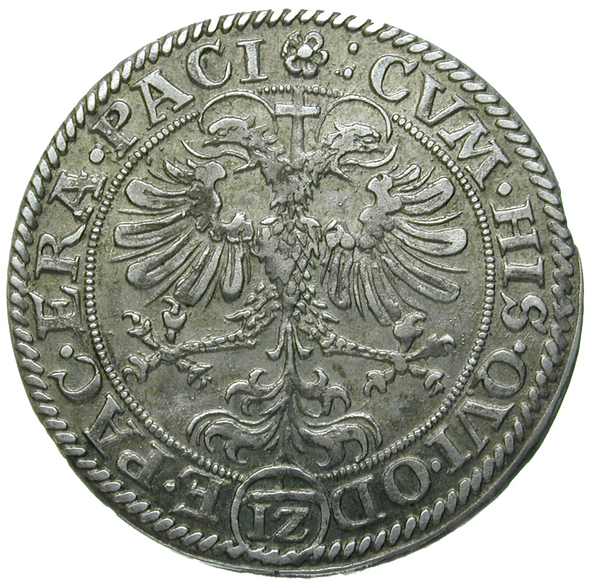 Holy Roman Empire, City of Zug, 1 Zwölfer (reverse)