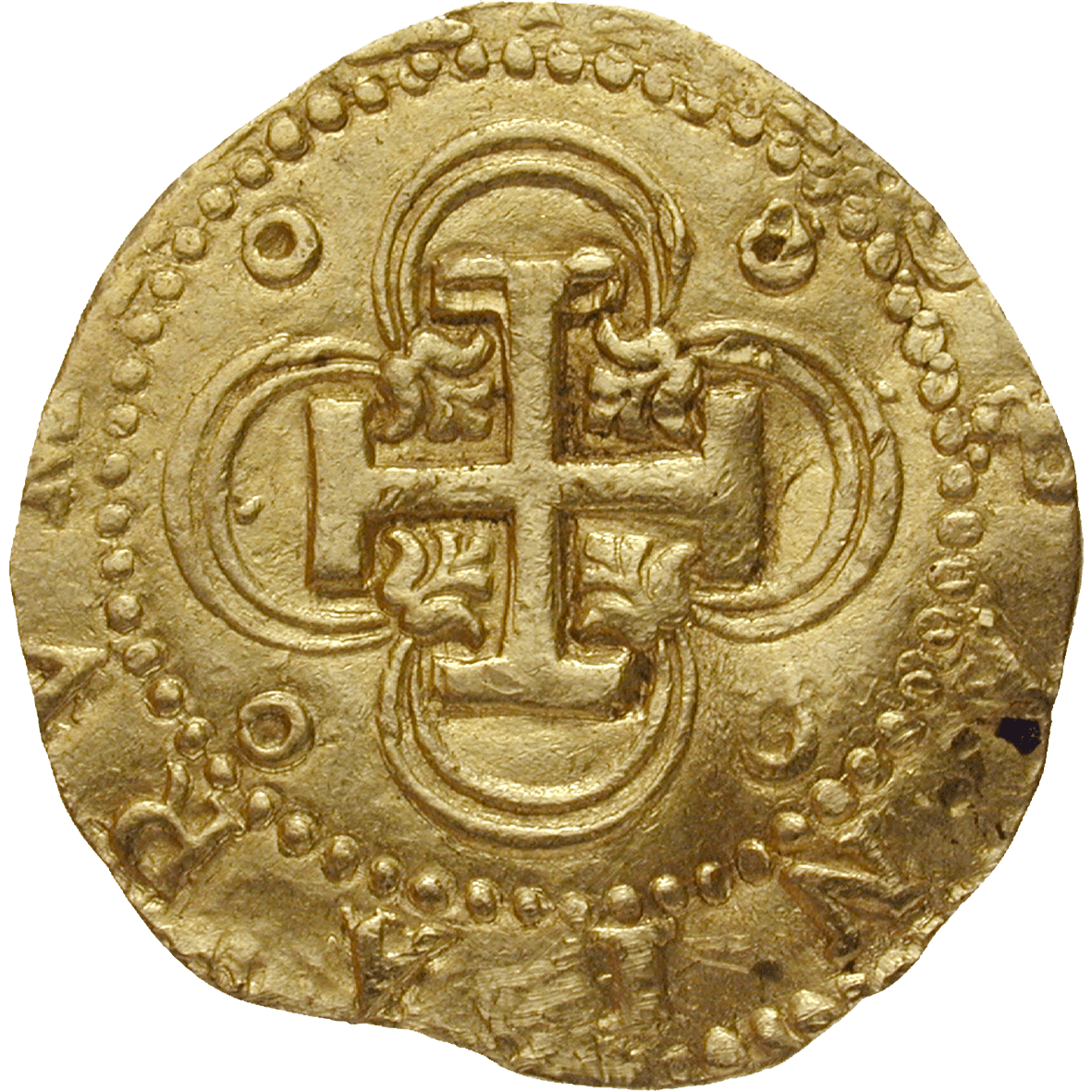 Kingdom of Spain, Philip II, Double Escudo (reverse)