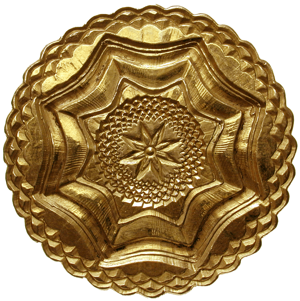 Zurich, Gold-Plated Silver Box for Keeping Coins or Medals (obverse)