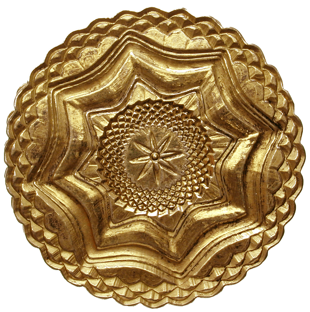 Zurich, Gold-Plated Silver Box for Keeping Coins or Medals (reverse)