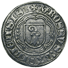Holy Roman Empire, City of Basle, Groschen (obverse)