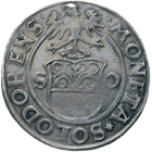 Holy Roman Empire, City of Solothurn, Dicken (obverse)