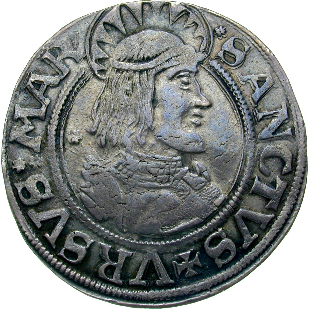 Holy Roman Empire, City of Solothurn, Dicken (reverse)