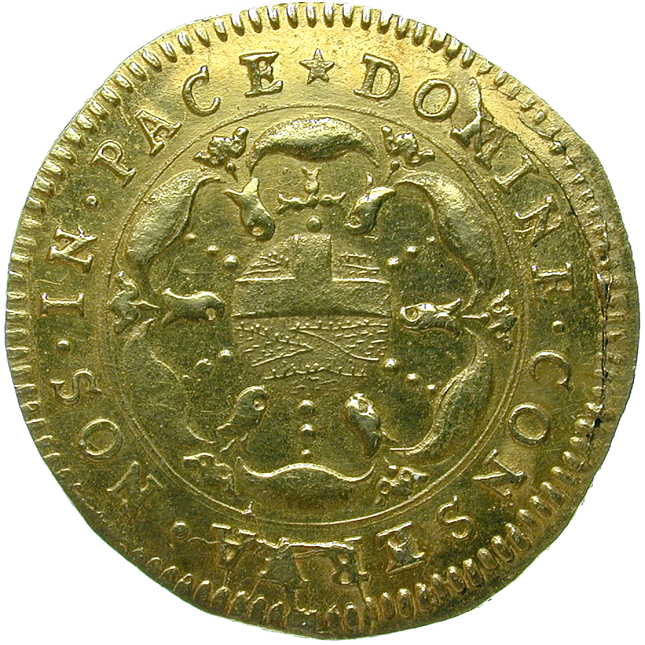 Republik Basel, Goldgulden (reverse)