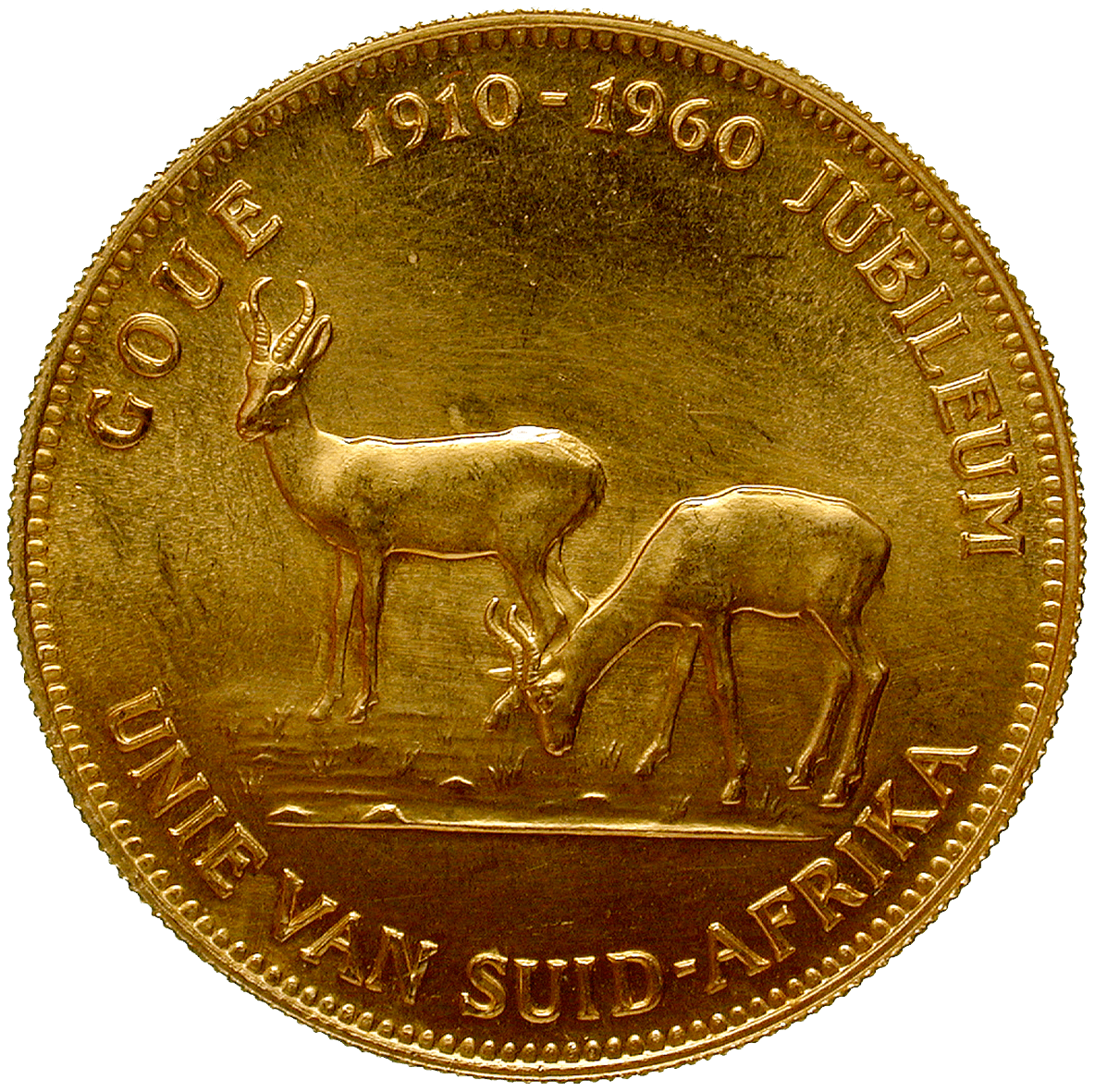 Republic of South Africa, Jubilee-Medal 1910-1960 (obverse)