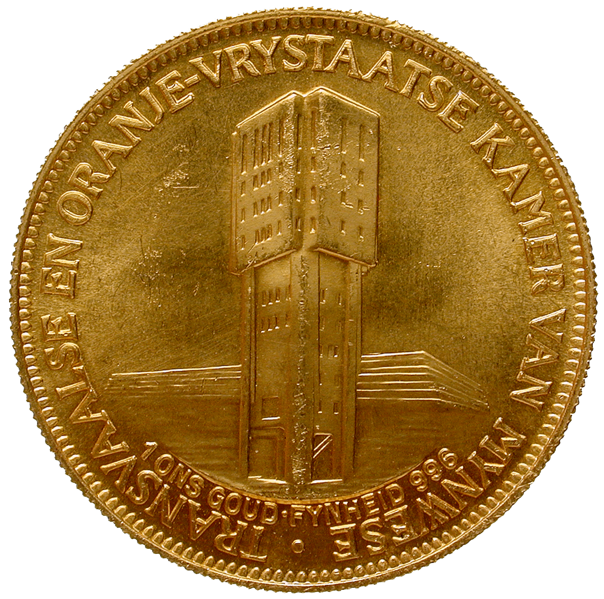 Republic of South Africa, Jubilee-Medal 1910-1960 (reverse)
