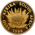 Republic of South Africa, Jubilee Medal 1886-1986 (obverse)