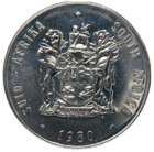 Republic of South Africa, 1 Rand 1980 (obverse)