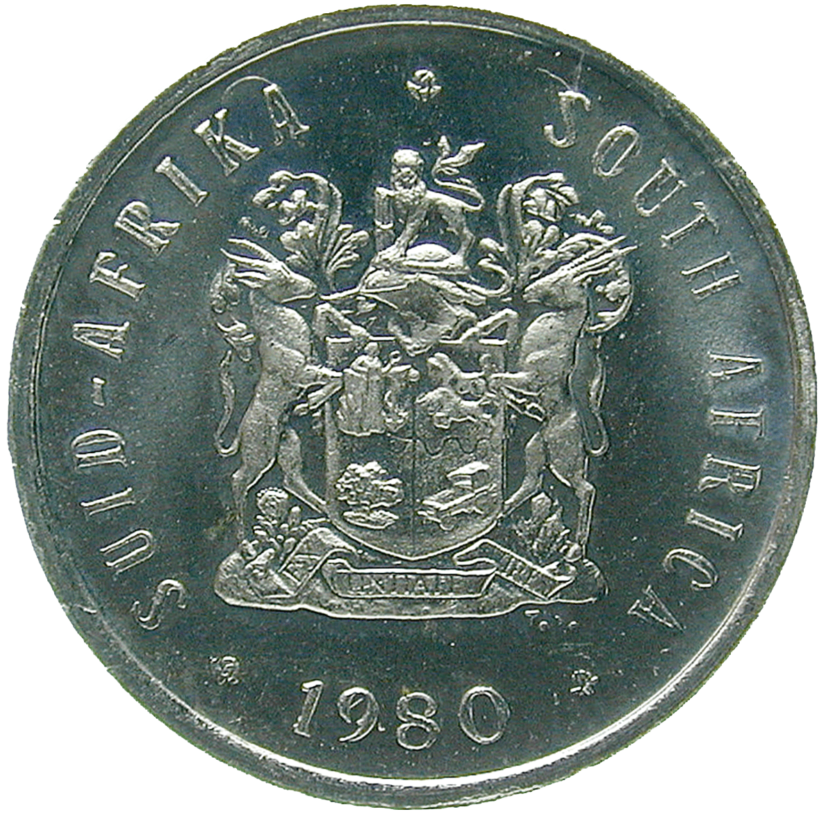 Republic of South Africa, 5 Cents 1980 (obverse)