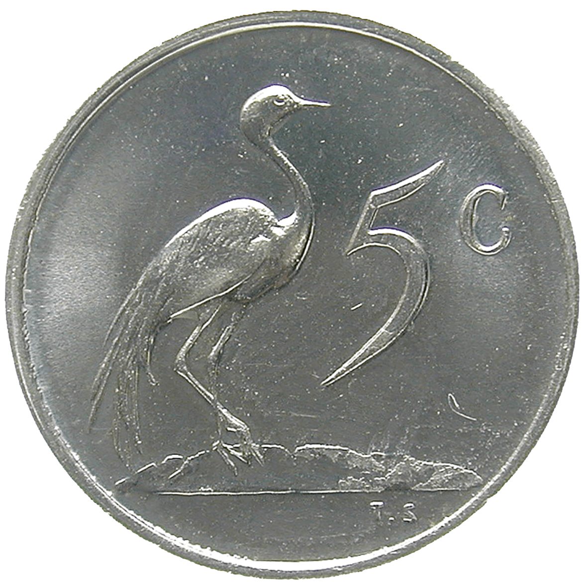 Republic of South Africa, 5 Cents 1980 (reverse)