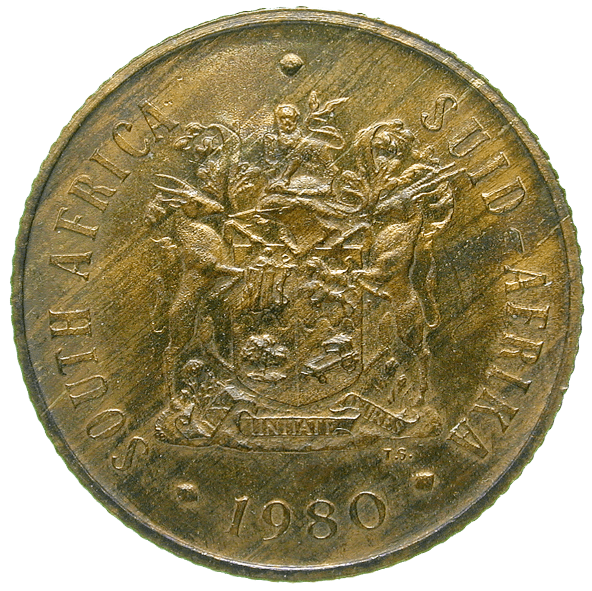 Republic of South Africa, 2 Cents 1980 (obverse)