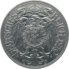 German Empire, Wilhelm II, 25 Pfennig 1910 (obverse)