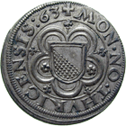 Holy Roman Empire, City of Zurich, Groschen 1563 (obverse)