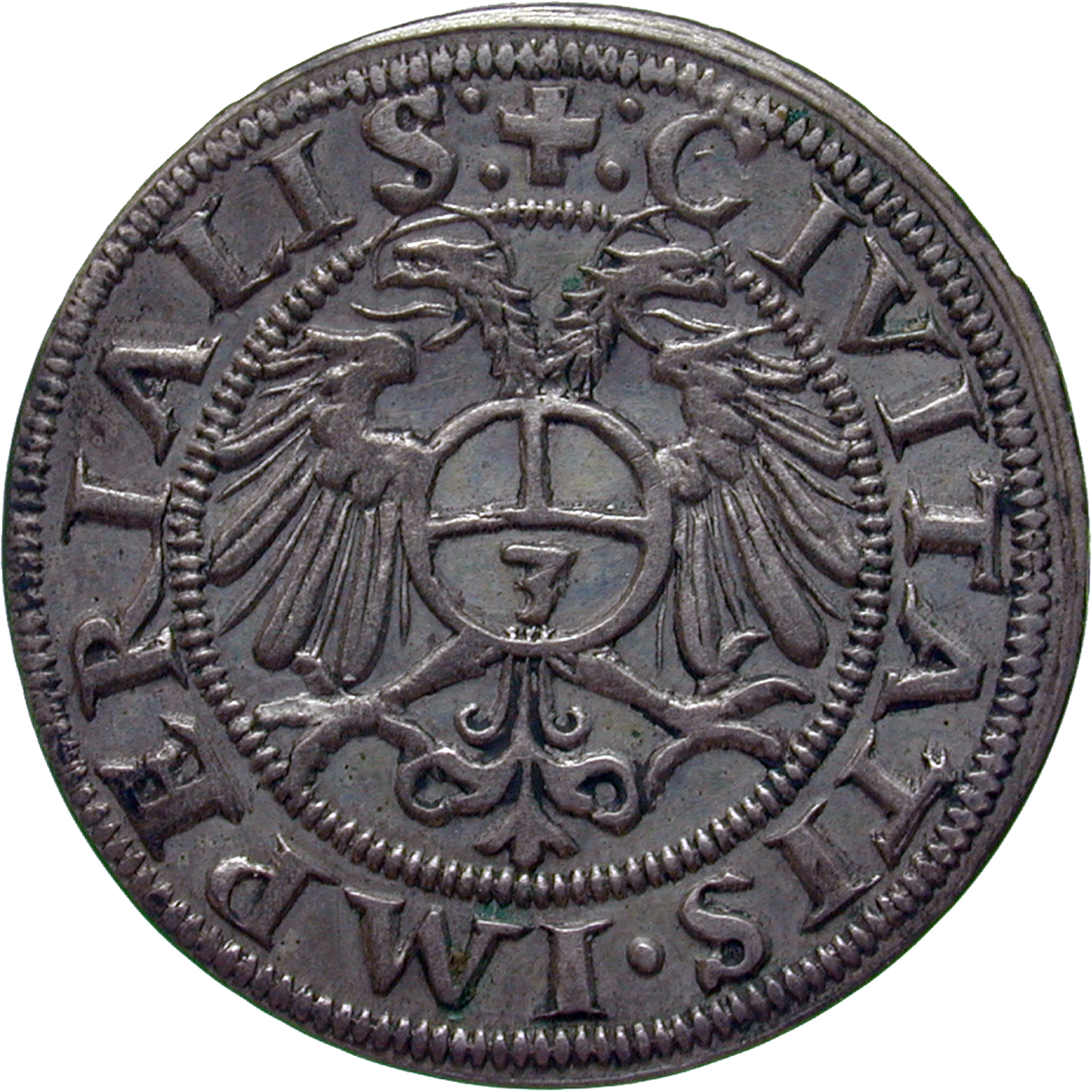 Holy Roman Empire, City of Zurich, Groschen 1563 (reverse)
