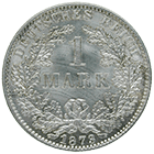 German Empire, Wilhelm I, 1 Mark 1873 (obverse)