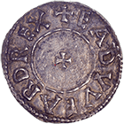 Kingdom of England, Edward the Elder, Penny (obverse)