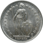 Swiss Confederation, 2 Francs 1937 (obverse)