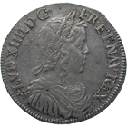 Kingdom of France, Louis XIV, 1/2 Ecu Blanc 1650, Angres (obverse)