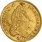 Kingdom of France, Louis XIV, Louis d'or 1693 (obverse)