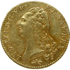 Kingdom of France, Louis XVI, Double Louis d'Or 1786 (obverse)
