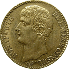 Republic of France, Napoleon Bonaparte First Consul, 40 Francs An 12 (obverse)