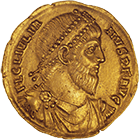 Roman Empire, Julian II the Apostate, Solidus (obverse)