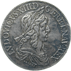 Kingdom of France, Louis XIII, Ecu Blanc 1643 (obverse)