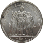 Republic of France, 5 Francs 1849 (obverse)
