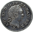 Kingdom of France, Isles du Vent (Antilles), Louis XV, 6 Sols 1731 (obverse)