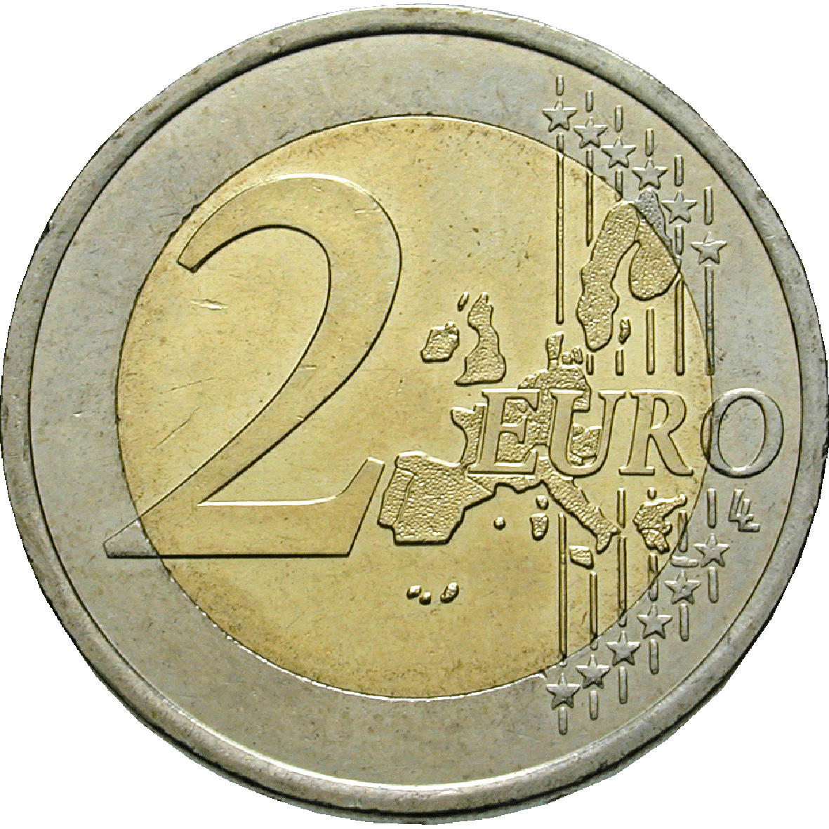Republic of France, 2 Euros 2001 (obverse)
