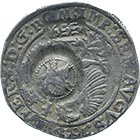 Russian Empire, Alexis I, Yefimok 1655 (obverse)