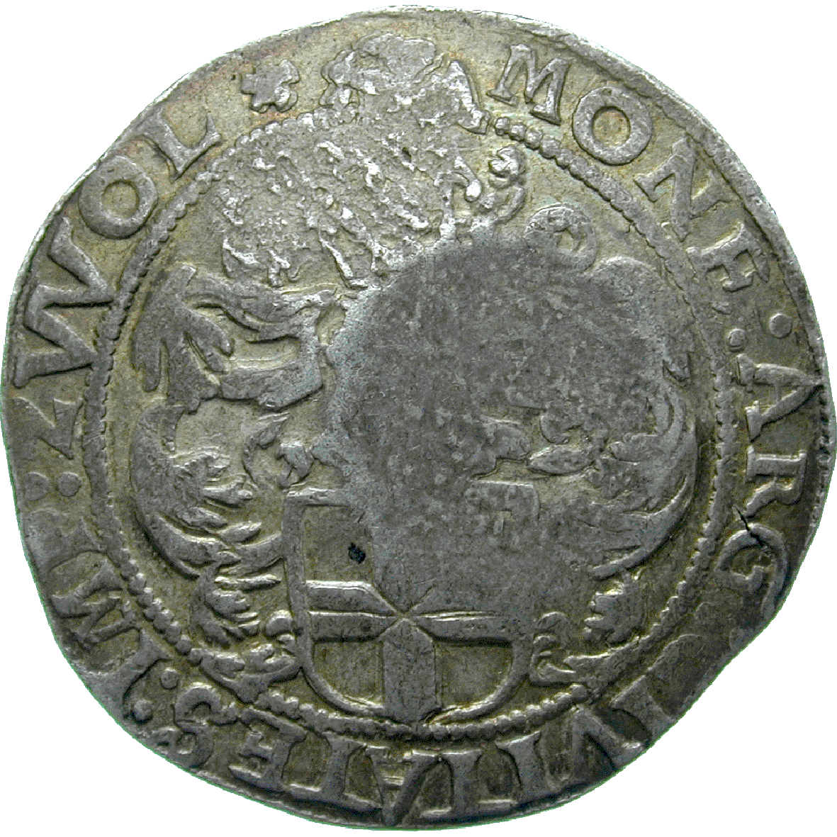 Russian Empire, Alexis I, Yefimok 1655 (reverse)