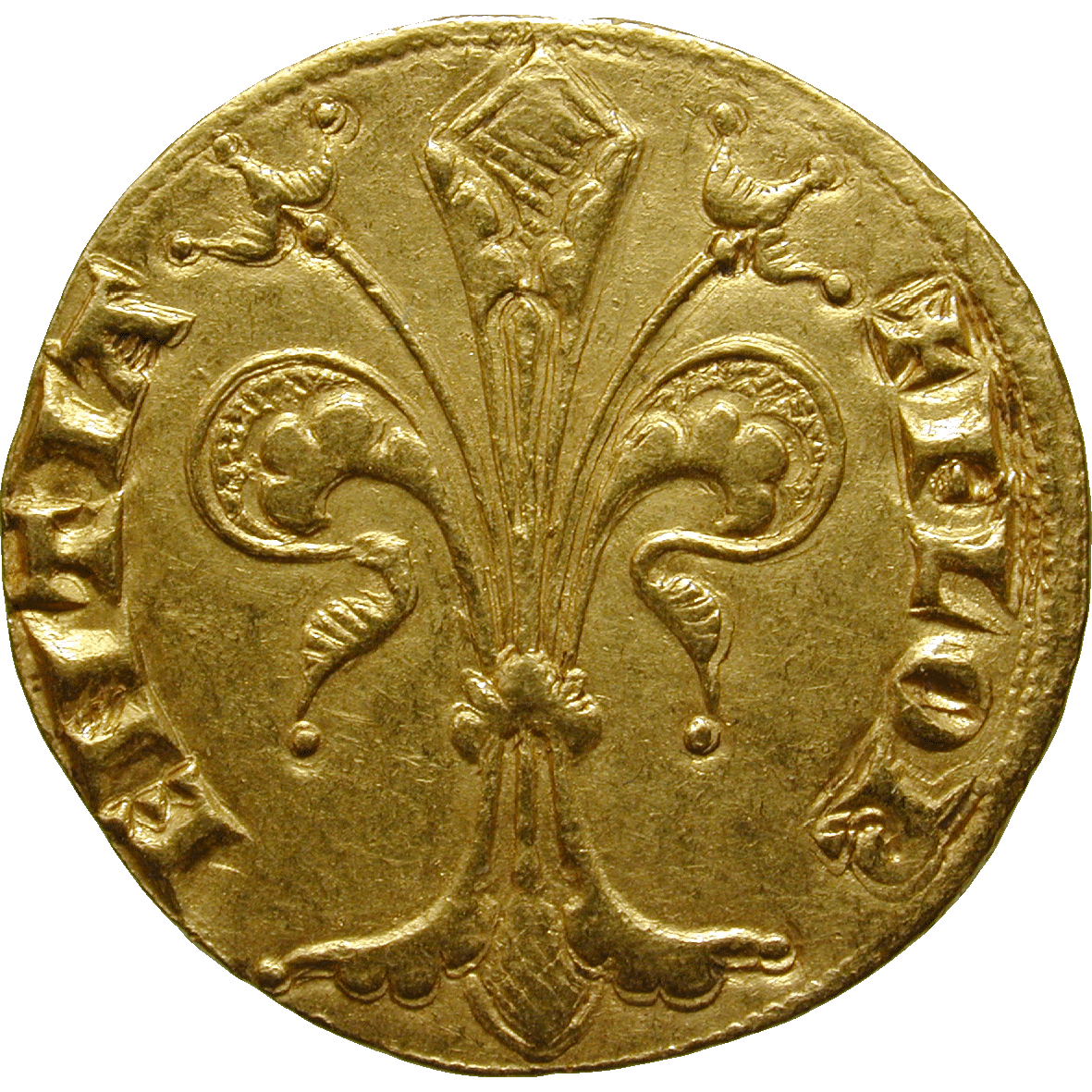 Holy Roman Empire, Republic of Florence, Fiorino d'Oro (obverse)