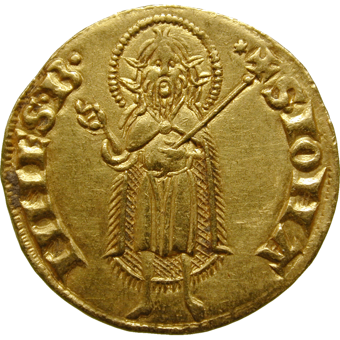 Holy Roman Empire, Republic of Florence, Fiorino d'Oro (reverse)