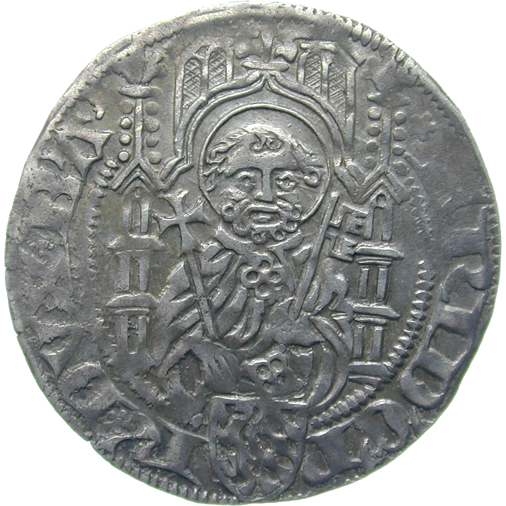 Holy Roman Empire, County Palatine of the Rhine, Frederick I, Albus (obverse)