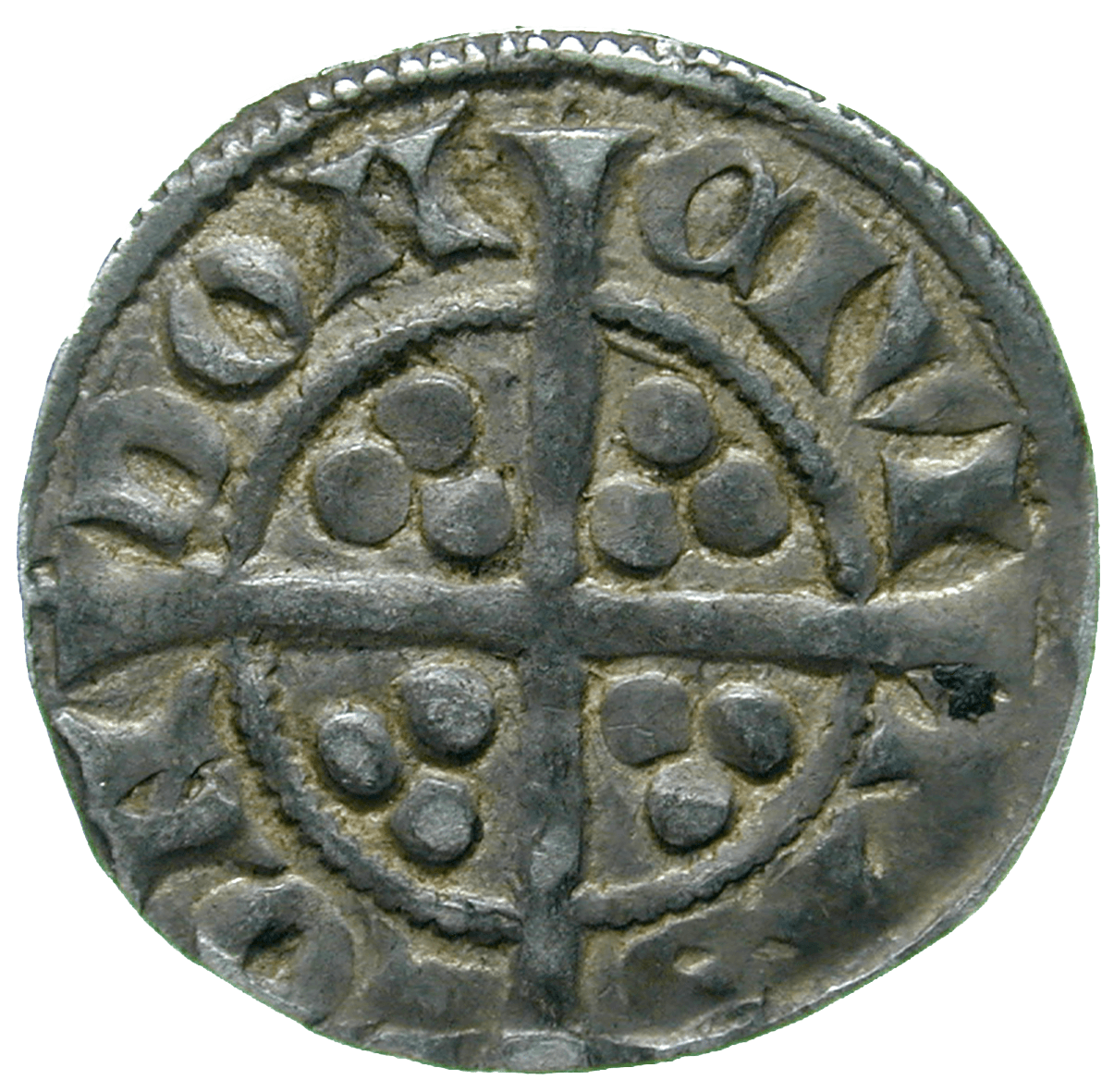 Kingdom of England, Edward I, Penny (reverse)