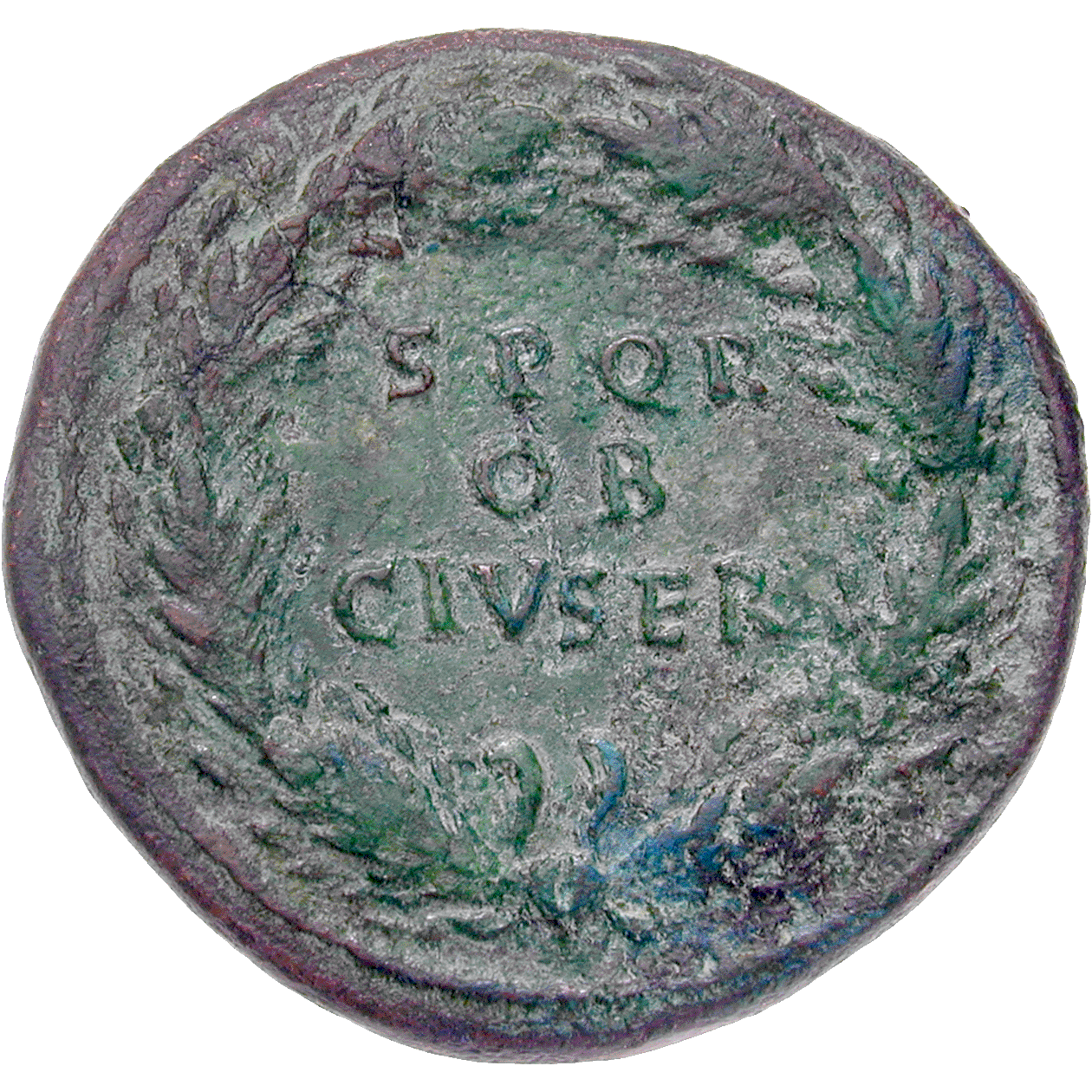 Roman Empire, Galba, Sesterce (reverse)