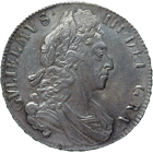 Königreich England, William III., Crown 1700 (obverse)