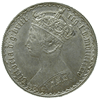 United Kingdom of Great Britain, Victoria, Florin 1885 (obverse)