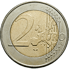 Kingdom of Belgium, Albert II, 2 Euros 2000 (obverse)