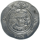 Arab-Sassanids, Anonymous Ruler, Dirham 30 AH (obverse)